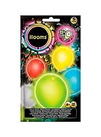 5 illooms LED Luftballons basic