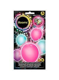 5 illooms LED Luftballons sweet