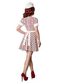 50er Jahre Kellnerin Kostüm
