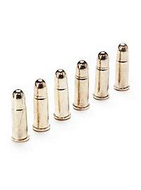6 cartouches pour Colt 45 Munition factice