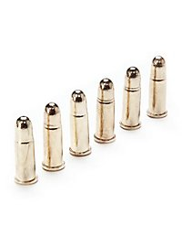 6 Rounds for 45 Colt Replica Ammunition