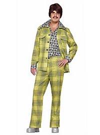 70er Jahre Checker Anzug kariert