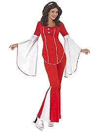 70s disco costume Anni-Frid