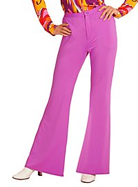 70s ladies pants purple