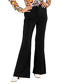 70s ladies trousers black