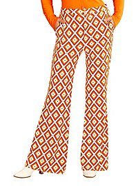 70s ladies trousers diamonds