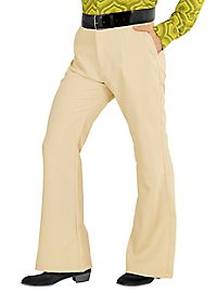 70s men pants beige