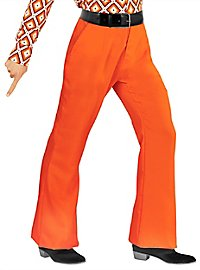 70s men pants orange