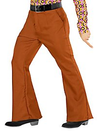 70s men's trousers brown
