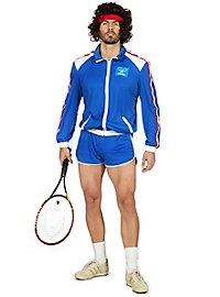80er Jahre Tennisstar Kostüm