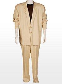80er Miami Drogenfahnder Anzug weiß