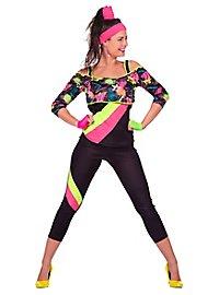 80er Rollerdisco Kostüm für Frauen