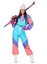 80er Skianzug Kostüm für Frauen