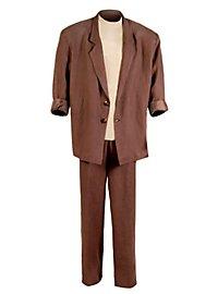 80s Narcotics Detective Suit Miami brown