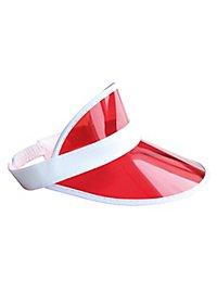 80s peaked cap red