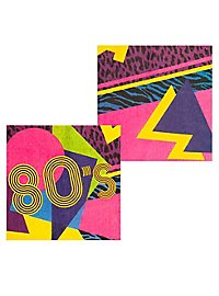 80s Servietten 12 Stück