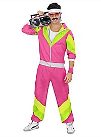 80s tracksuit pink