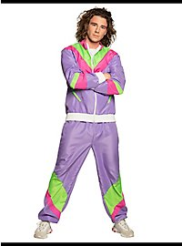 80s tracksuit purple for men