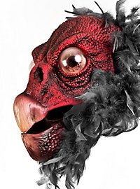 Aasgeier Maske aus Latex