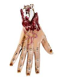 Abgerissene Hand Halloween Deko