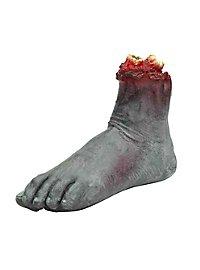 Abgerissener Zombie Fuß