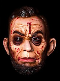 Abraham Lincoln Zombie Latex Full Mask