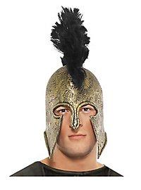 Achilles Spartan Helmet made of latex