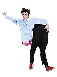 Action-Kostüm Halber Zombie Halloweenkostüm