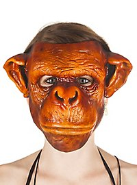 Affe Maske aus Kunstharz