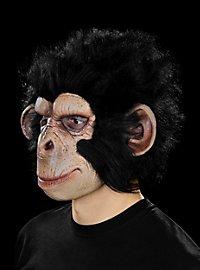 Affenmaske Freundlicher Schimpanse aus Latex