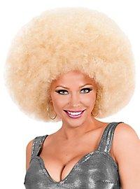 Afro XXL Perücke blond