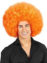 Afro XXL Perücke orange