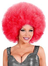 Afro XXL Perücke pink