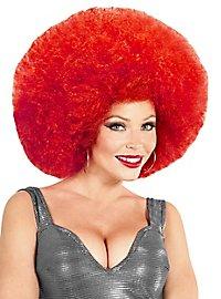 Afro XXL Perücke rot