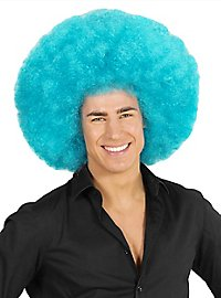 Afro XXL Wig light blue