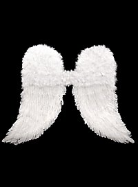 Ailes d'anges en plumes blanches