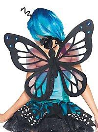 Ailes de papillon bleu clair