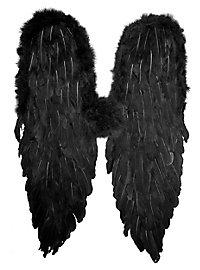 Ailes en plumes noires