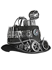 Air Pirate Steampunk Hat with Lamp
