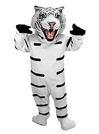 Albino Tiger Mascot
