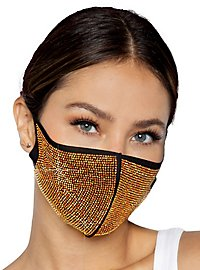 Alexi face mask with strass