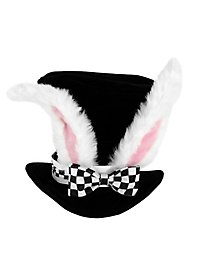 Alice in Wonderland White Rabbit Hat