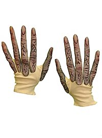 Alien gloves with long fingers