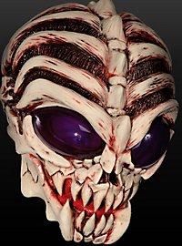 Alienmaske Angry Alien aus Latex