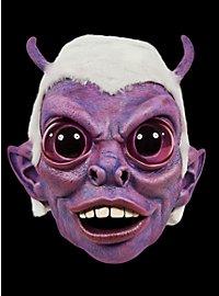 Alienmaske Psycho Alien aus Latex