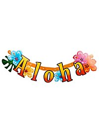 Aloha Buchstabengirlande