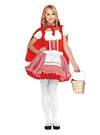 Alpine Red Riding Hood Teen Costume