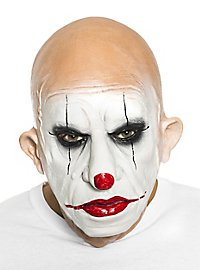 Alter Clown Maske aus Schaumlatex