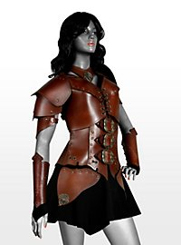 Leather armour - She-warrior