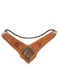 Amazon Leather Collar light brown